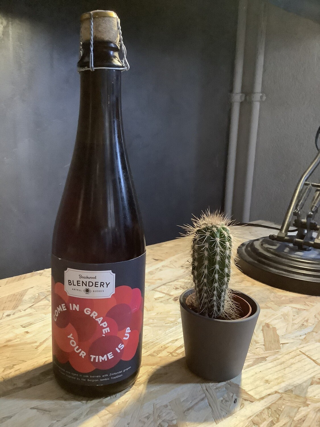 Beachwood Blendery - Come in grape, your Time is up - 8,5% - 50cl