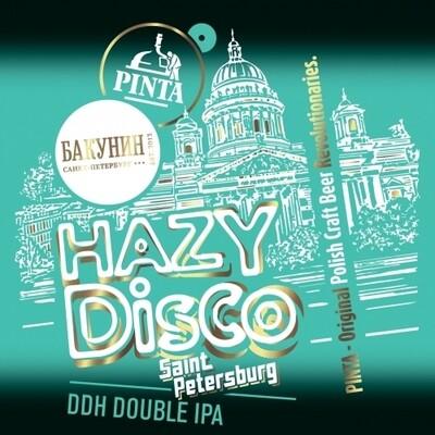 PINTA - Hazy Disco - Saint Petersburg -7% - De la pression en cannettes de 50cl