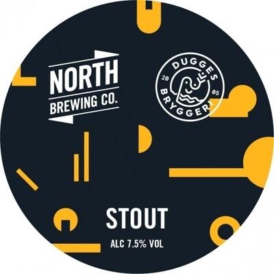 North Brewing Co - North X Dugges Stout - 7,5% - de la pression en cannettes de 50cl