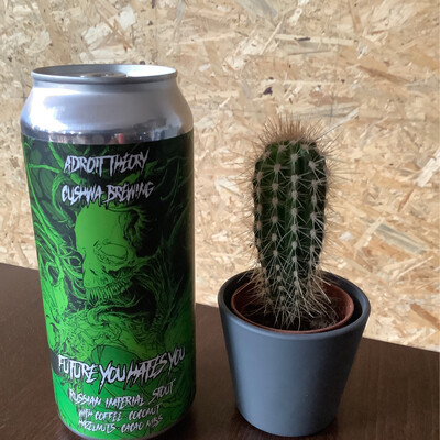 Adroite Theory  - Future You Hates You (Ghost 938) - 13,5% - 47cl