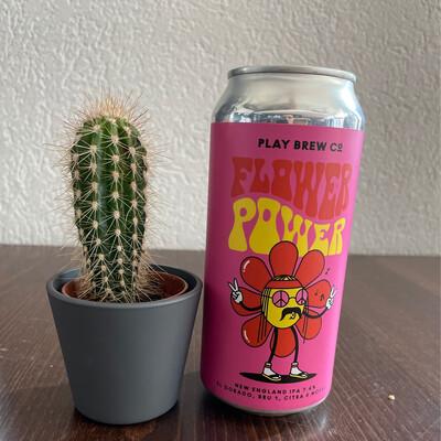 Play Brew  - Flower  Power - 7,4% - 44cl