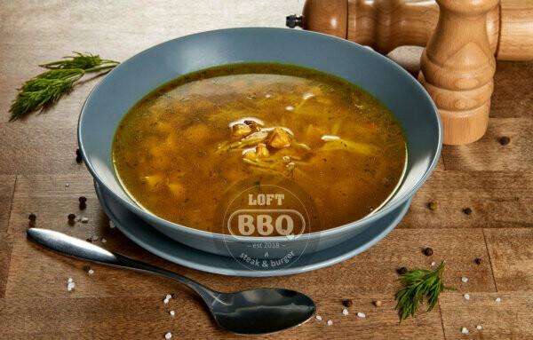 Суп -лапша с курицей