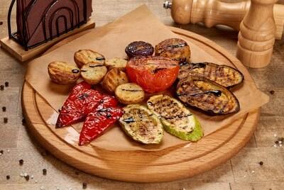 Овощи на гриле.