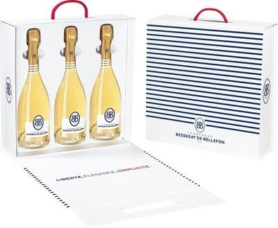 Champagne Besserat de Bellefon - Coffret 3 Blanc de blanc