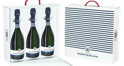 Champagne Besserat de Bellefon - Coffret 3 Brut