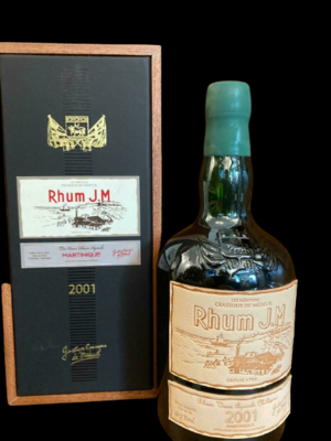 Rhum JM 2001 Martinique