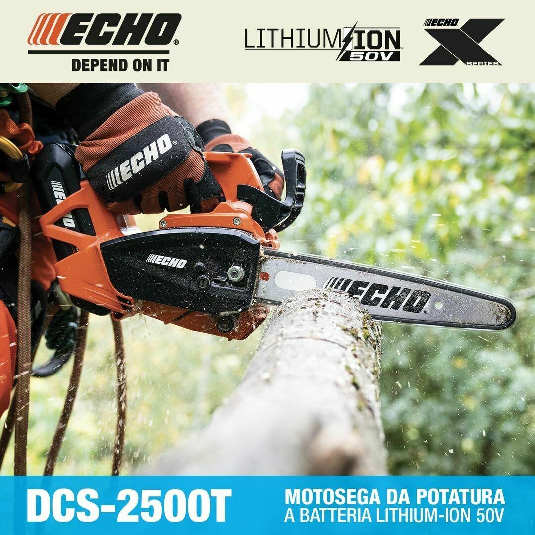 MOTOSEGA A BATTERIA ECHO DCS-2500T
