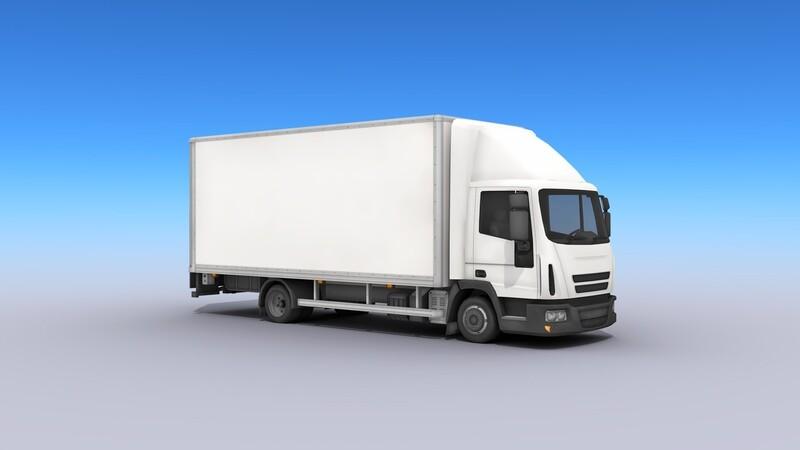 Medium Size Box Truck