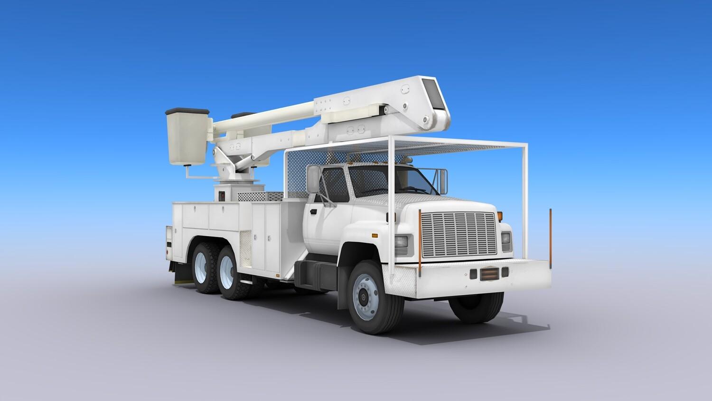 Utility Bucket Truck