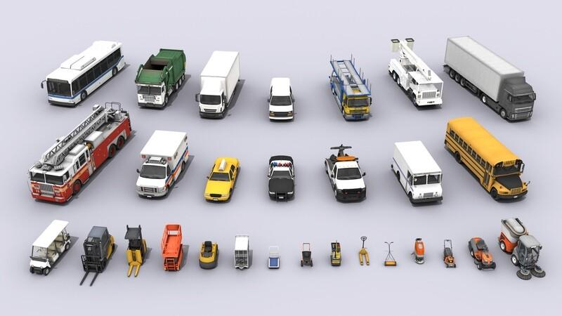 29 Various Vehicles Mega Bundle 3D Models Collection