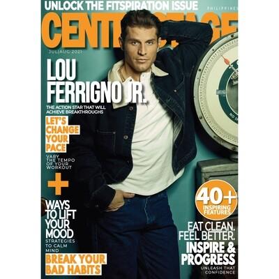 Jul/Aug 2021 with Lou Ferrigno Jr.