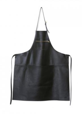 Apron BBQ Zipper XL black