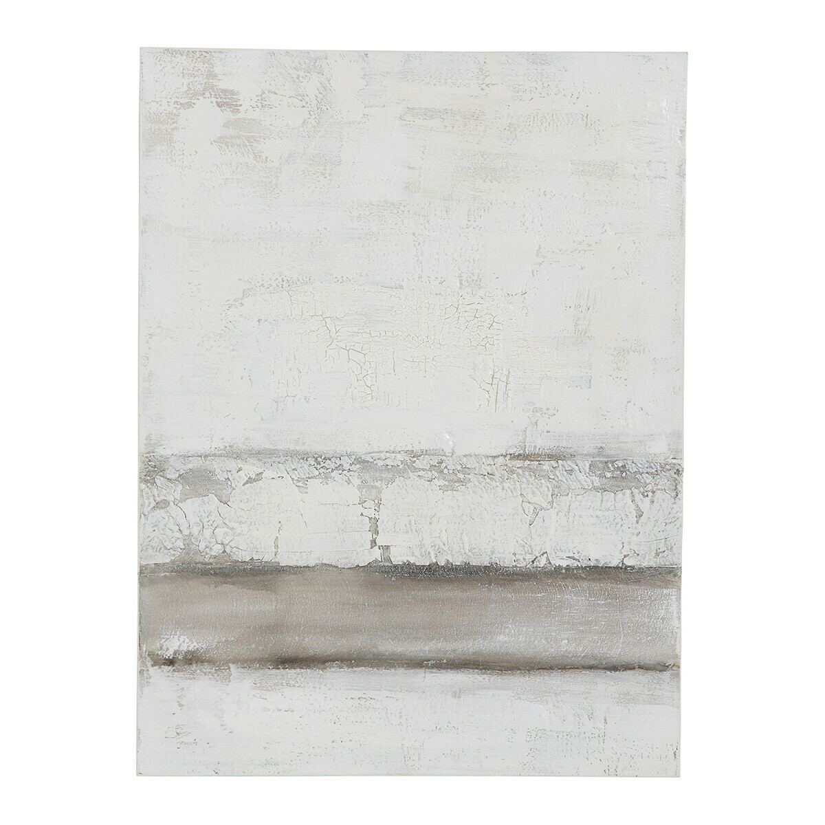 Tableau Abstract White - 90/120 cm