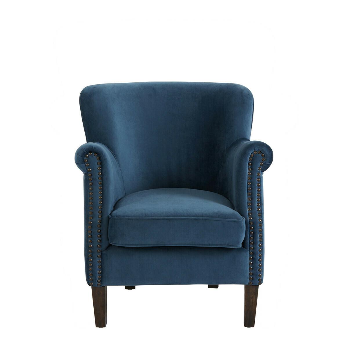 Fauteuil Claude - Petit Modèle Bleu De Minuit
