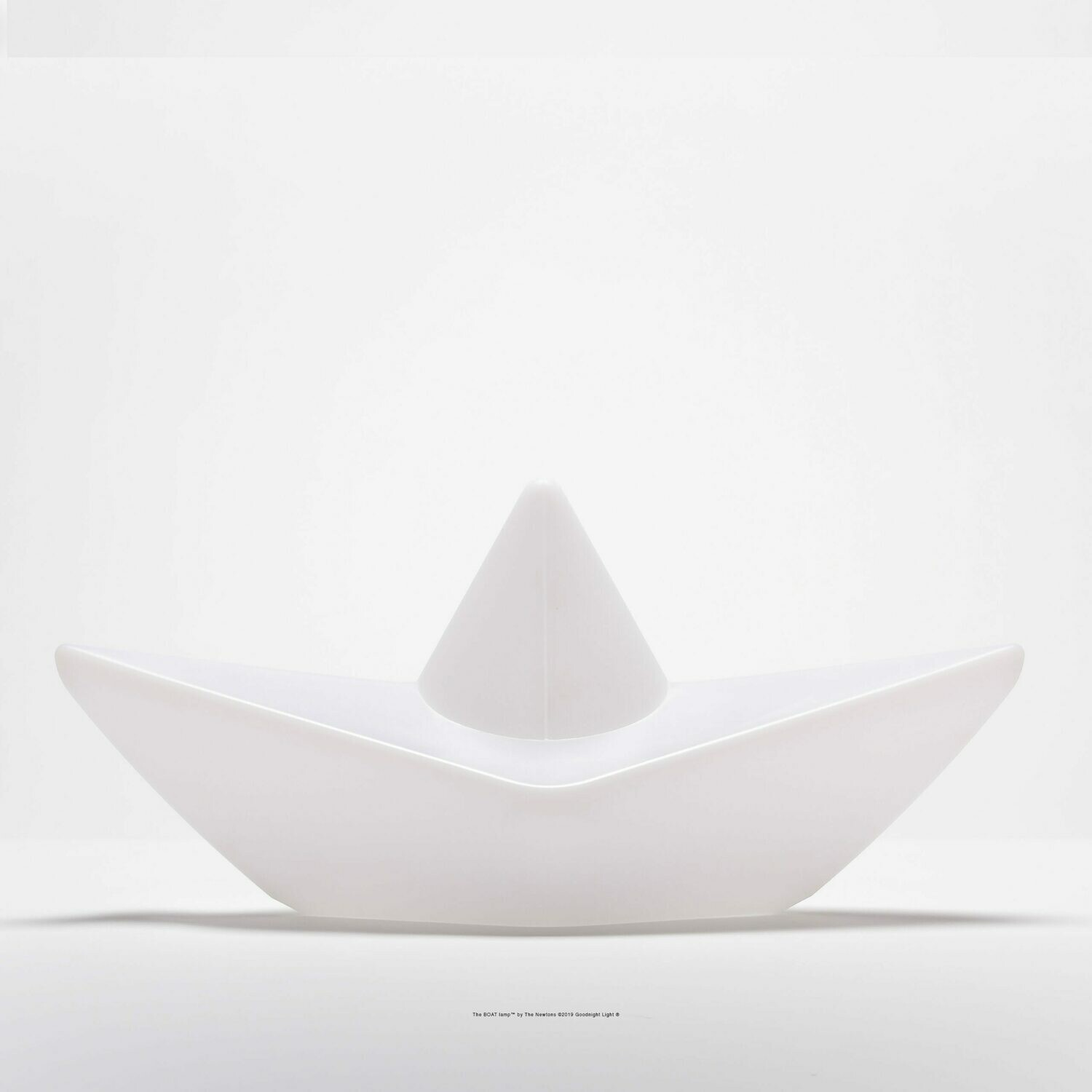 THE BOAT LAMP - White