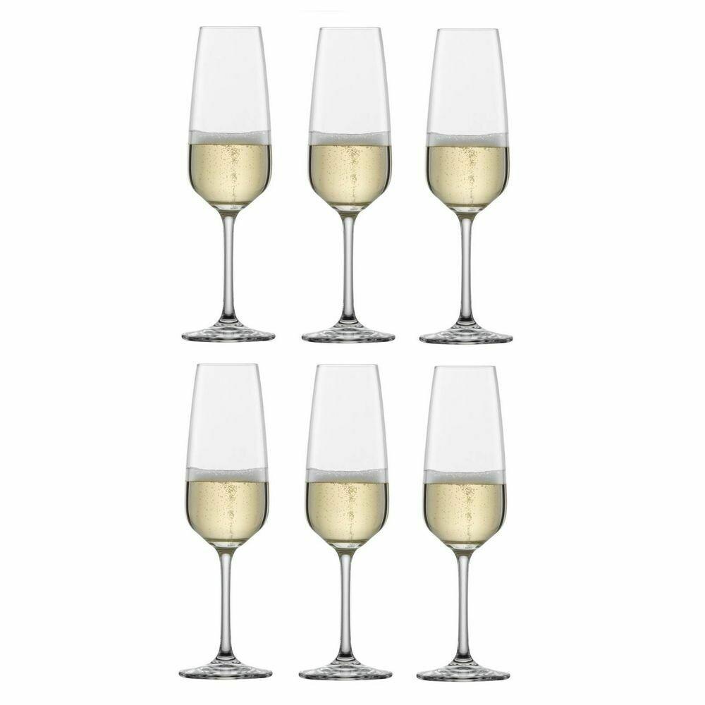 TASTE - Coffret de 6 flûtes à champagne