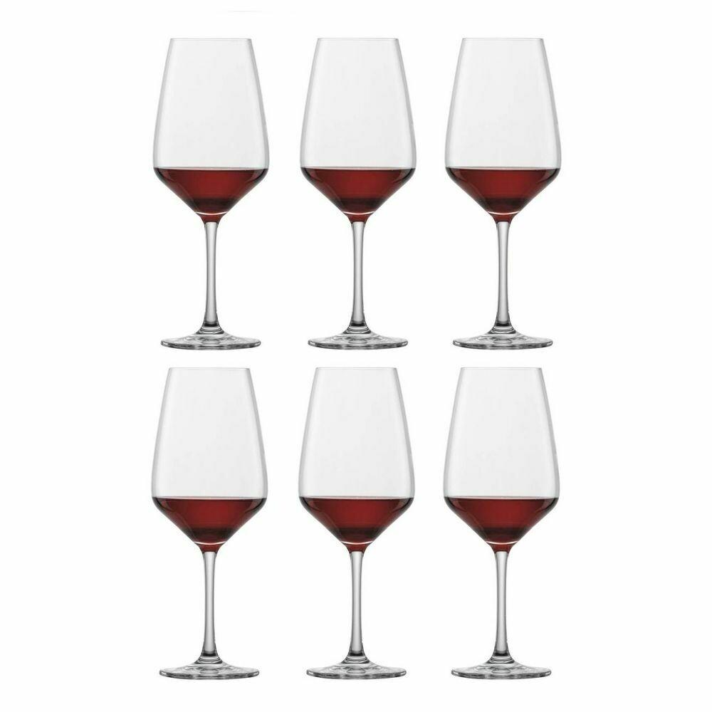 TASTE - Coffret de 6 verres à vin rouge