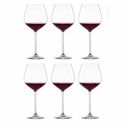 FORTISSIMO - Coffret de 6 verres à Bourgogne