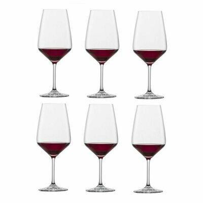 TASTE - Coffret de 6 verres à Bordeaux