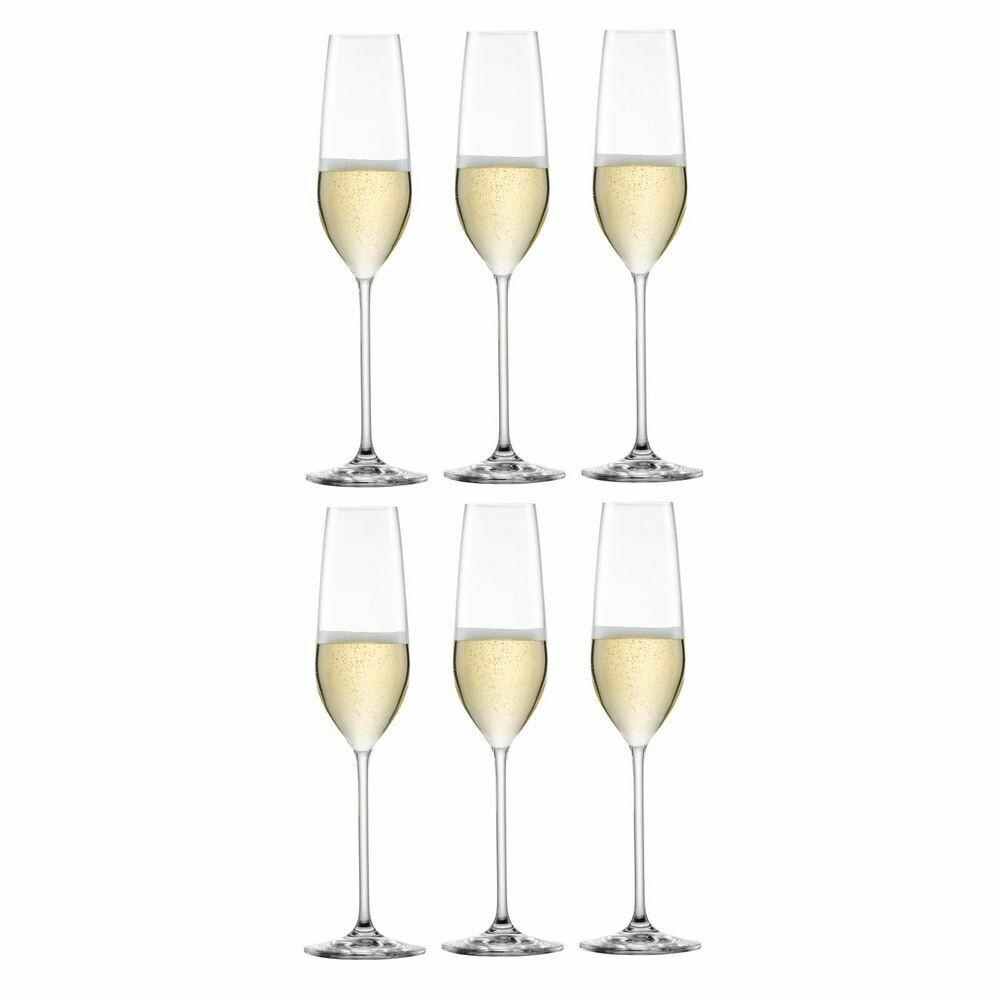 FORTISSIMO - Coffret de 6 flûtes à champagne