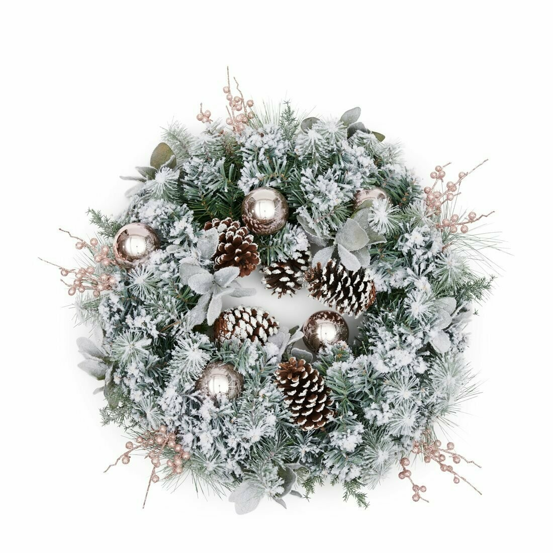 MERRY EVENING WREATH - 60 cm