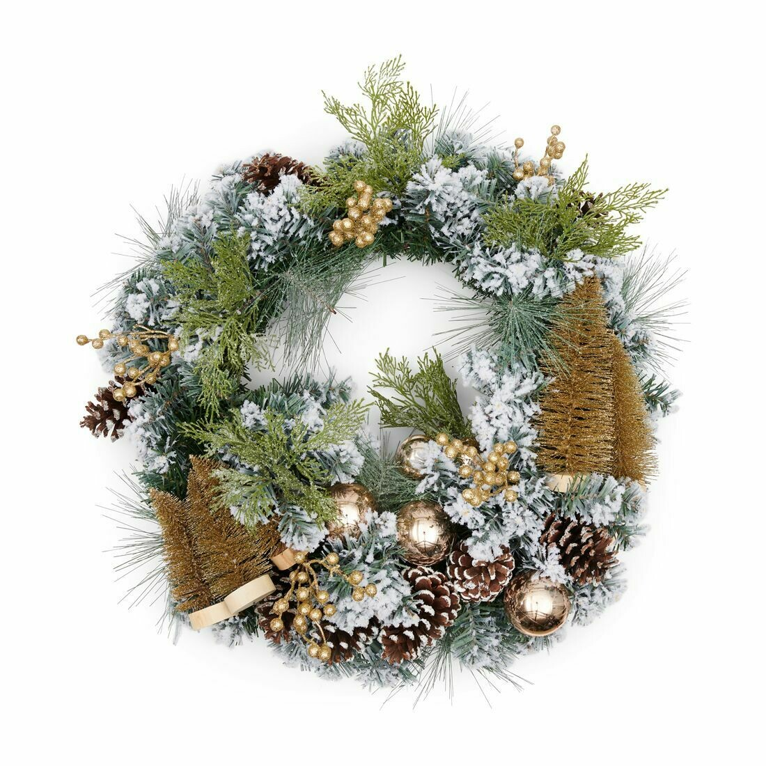 WONDERFUL CHRISTMAS WREATH - 70 cm