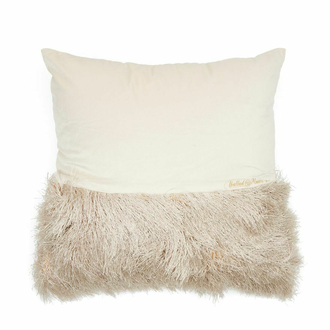 BALLAD FRINGE PILLOW COVER 50x50 cm