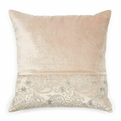 EMBROIDERED PILLOW COVER 50x50 cm