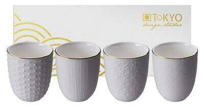 NIPPON WHITE TEACUP 200 ML 4 PCS