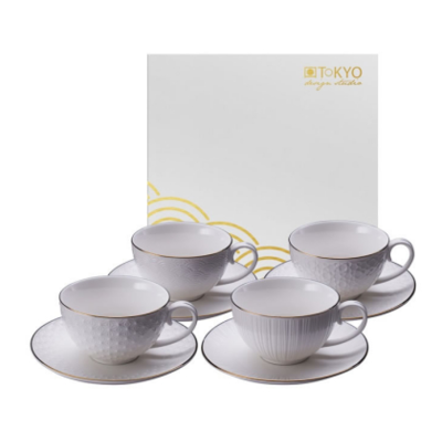 NIPPON WHITE ESPRESSO SET 8PC