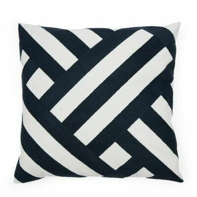 YACHT CLUB GRAPHIC PILLOW COVER