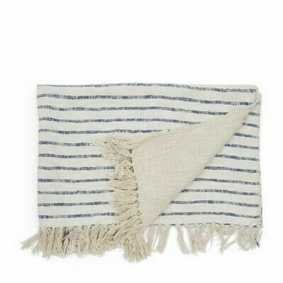 CLUB STRIPE THROW 170/130 SAND