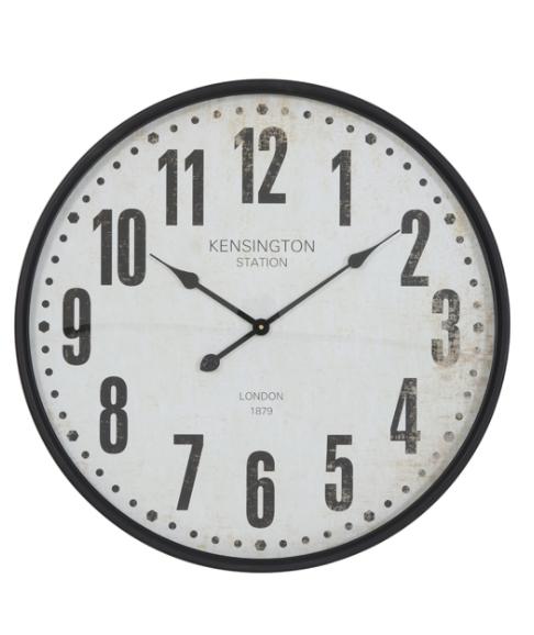 Horloge ROGERS Beige +Noir