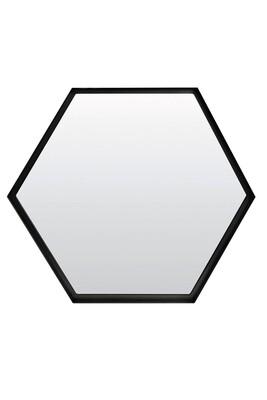 Miroir STELVIO Noir Ø 58 cm