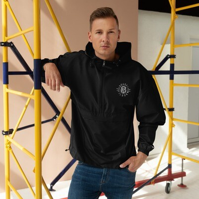 """""""CF 678"""" Embroidered Champion Packable Jacket"""