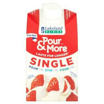 Pour & More single cream