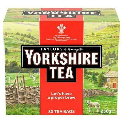 Yorkshire tea bags (80)