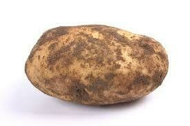 Muddy potato