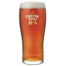 2 Pints of Greene King IPA