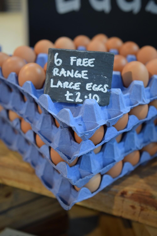 6 x free range eggs