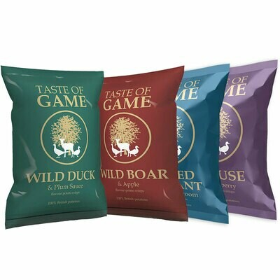Taste of Game crisps