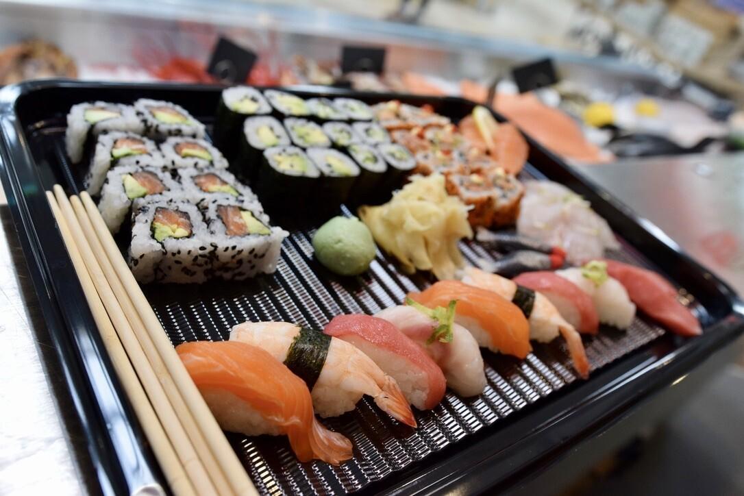 Freshly Made Sushi to order