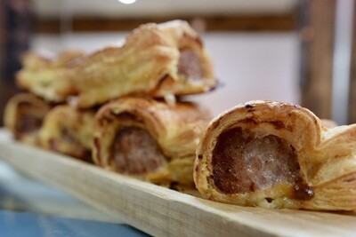 Home made sausage roll