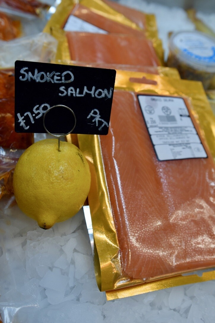 Smoked Salmon Packet