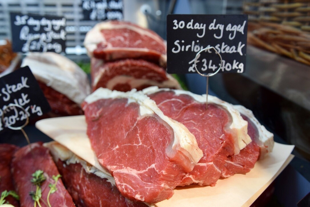 30 Day Aged Sirloin Steak (£/200g)