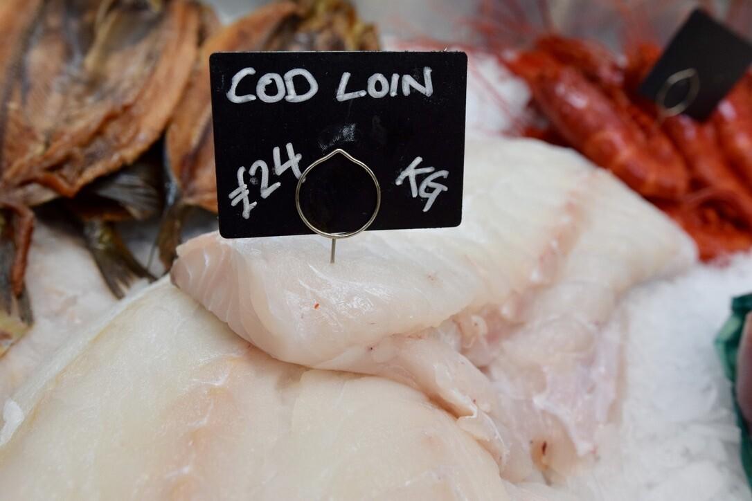 Cod Loin (£/100g)