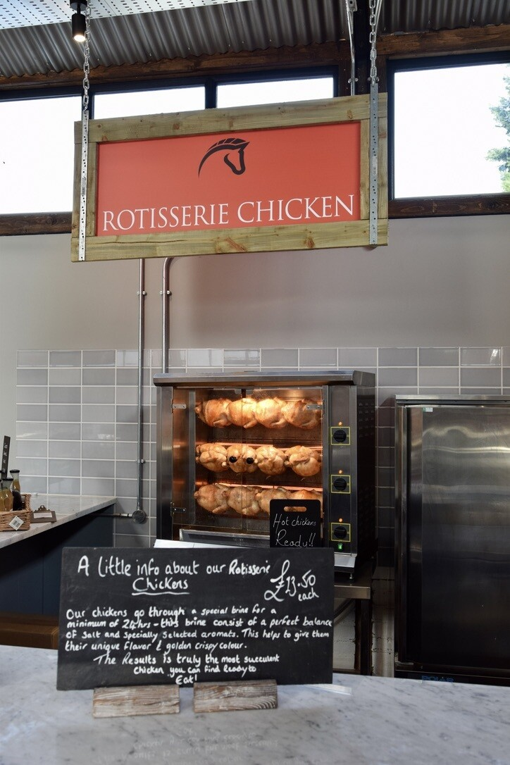 Rotisserie chicken (after 11am only)
