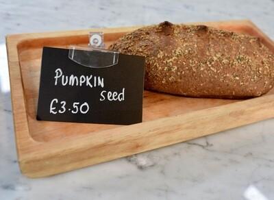 Pumpkin seed loaf