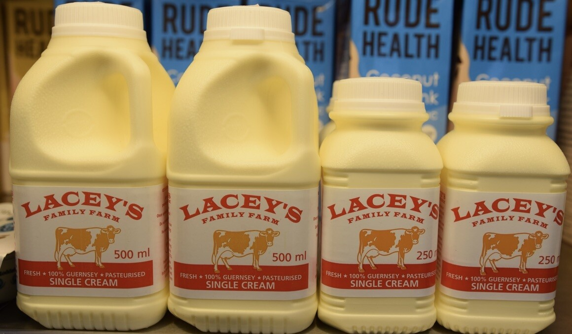Laceys single cream