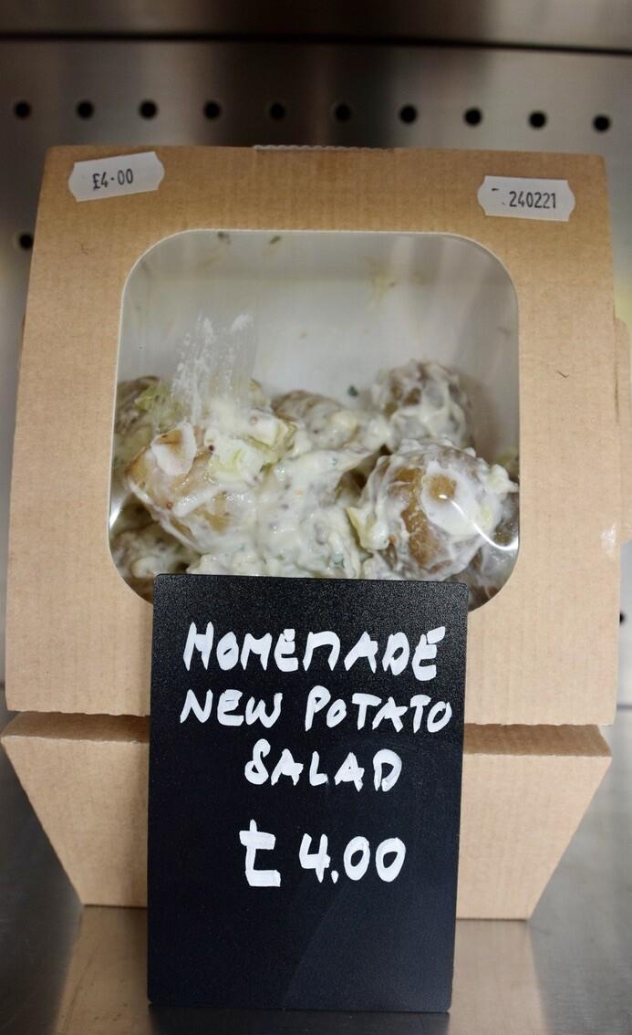 Homemade New Potato Salad